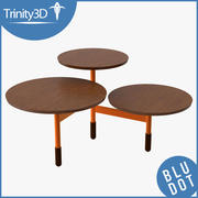 Lily-Pad Coffee Table 3d model