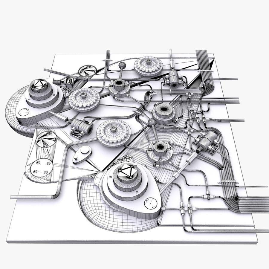 产业机制 royalty-free 3d model - Preview no. 12