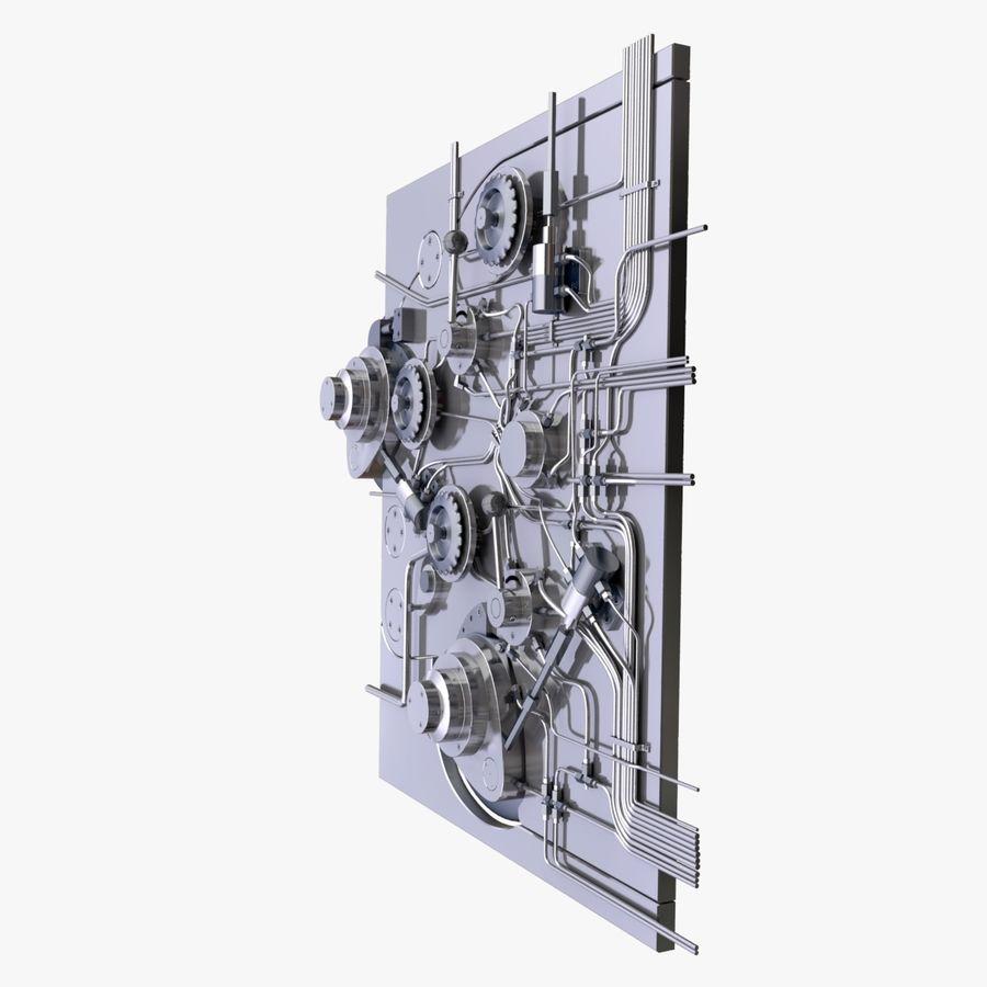 产业机制 royalty-free 3d model - Preview no. 7