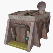 Sci Fi Bunker 3d model