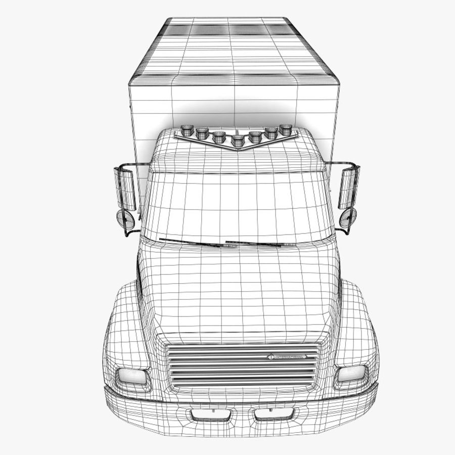 救急車 royalty-free 3d model - Preview no. 14