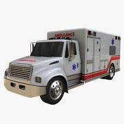 救急車 3d model