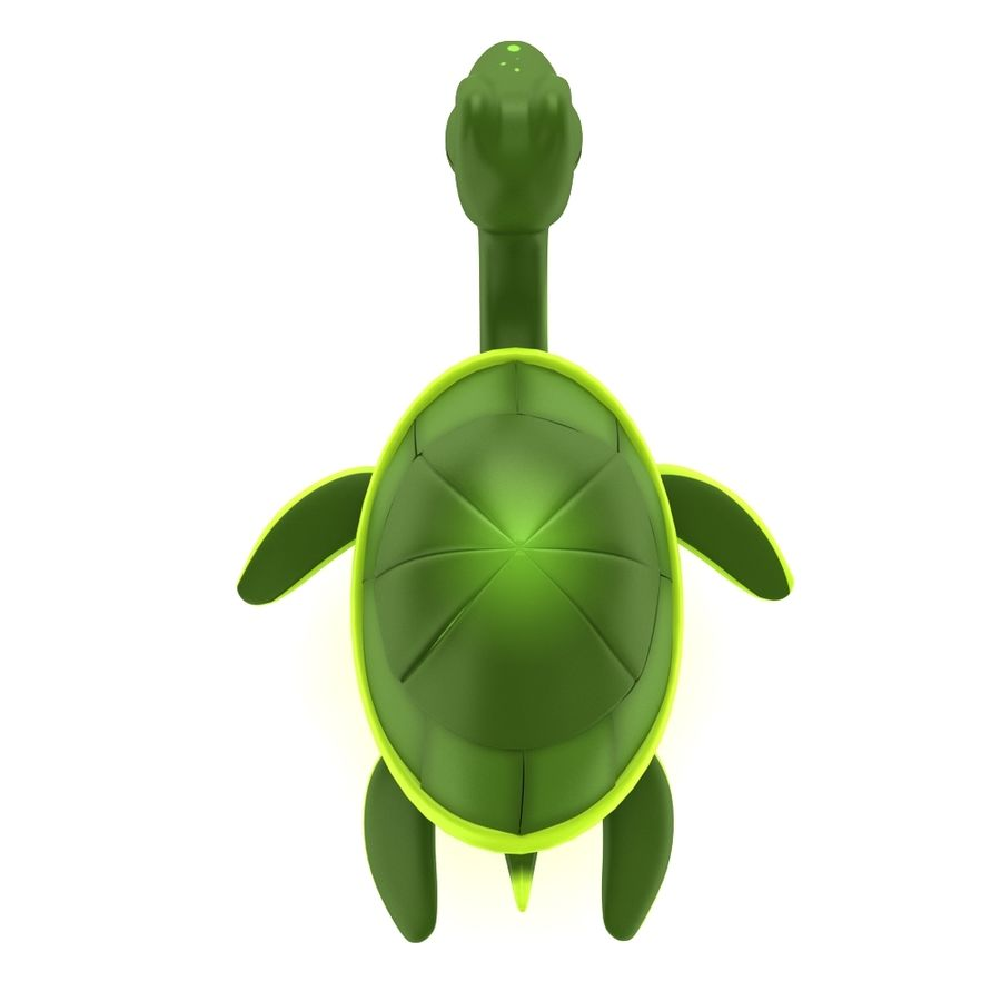 Modelo de tartaruga bonito tartaruga royalty-free 3d model - Preview no. 3