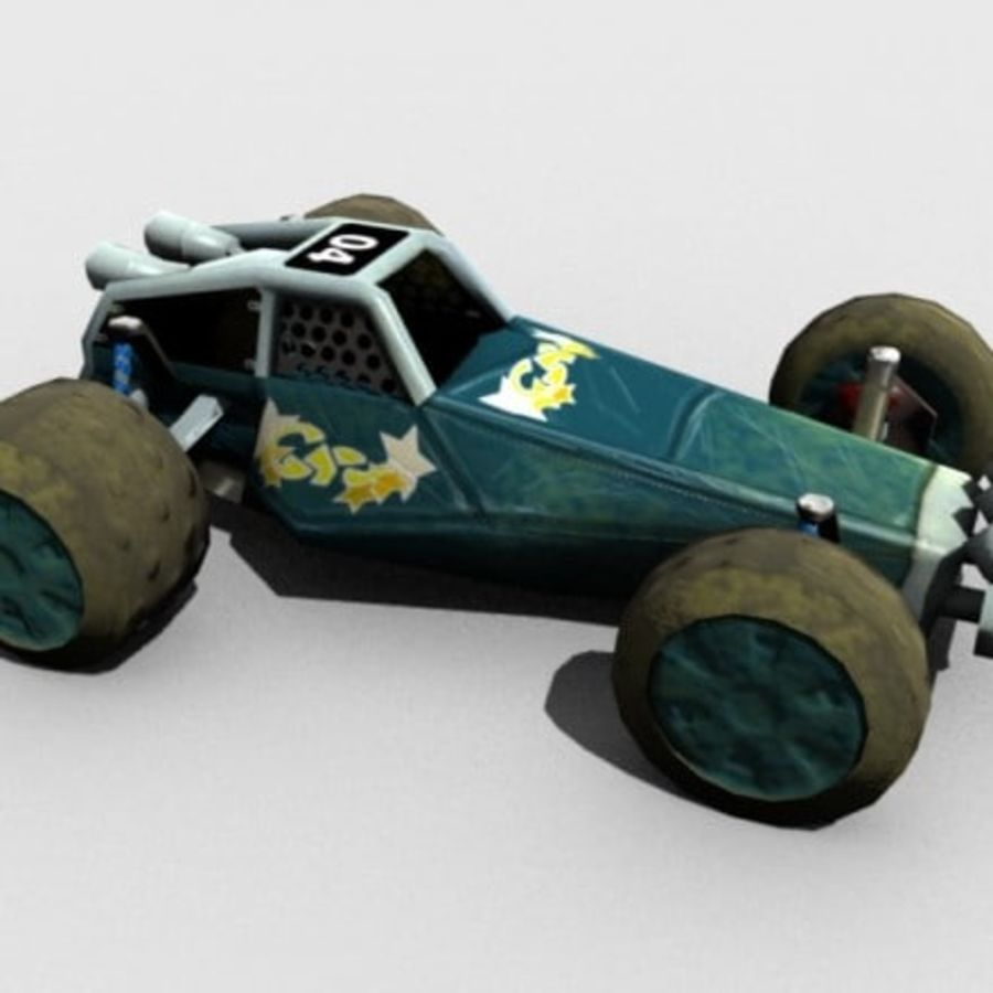 Buggy royalty-free 3d model - Preview no. 1
