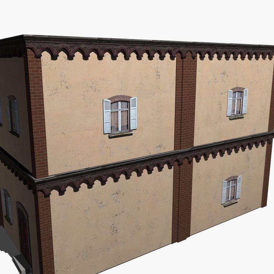 公寓楼02 royalty-free 3d model - Preview no. 5