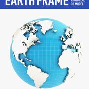 지구 (4) 3d model