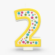 Number Candle 2 3d model