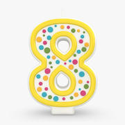 Number Candle 8 3d model