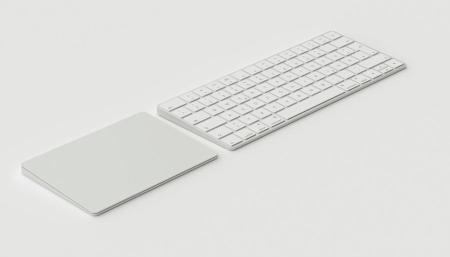 Apple Magic Keyboard Trackpad 2 royalty-free 3d model - Preview no. 6