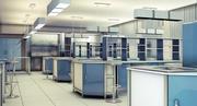 과학 실험실 3d model