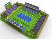 경기장 3d model