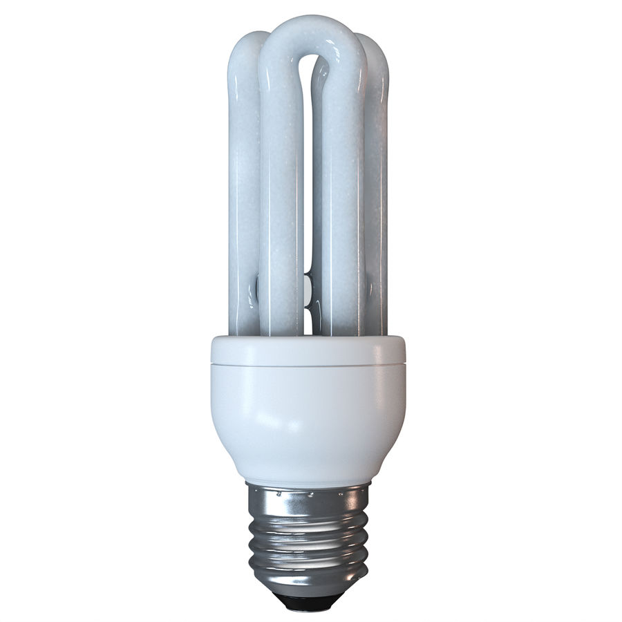 Lampe fluoreszierend royalty-free 3d model - Preview no. 13