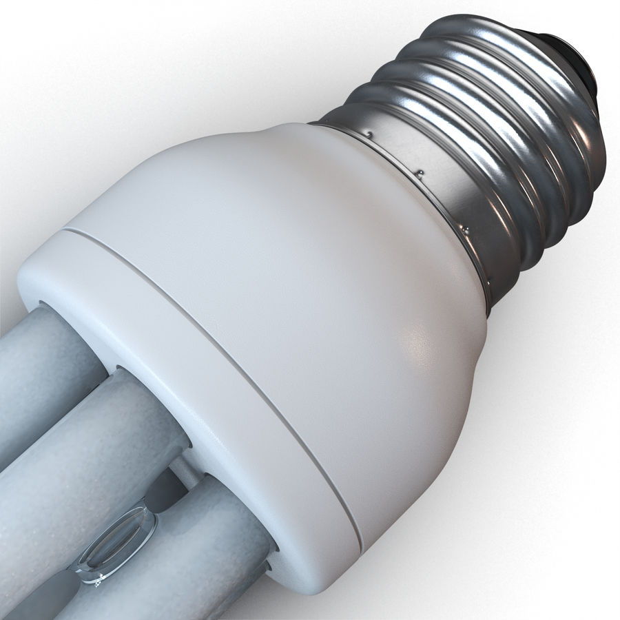 Lampe fluoreszierend royalty-free 3d model - Preview no. 10