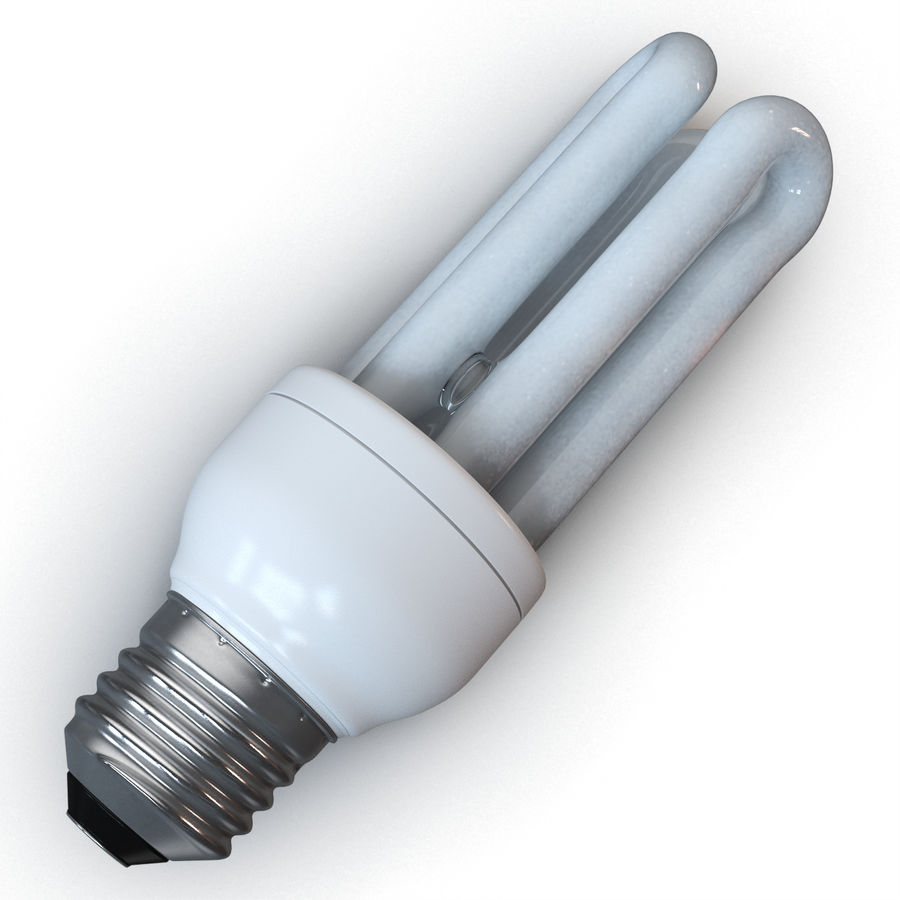 Lampe fluoreszierend royalty-free 3d model - Preview no. 6