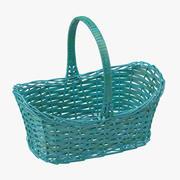 Easter Basket 04 3d model