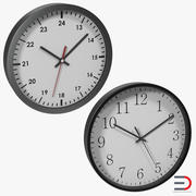 Office Clocks Collection 3d model