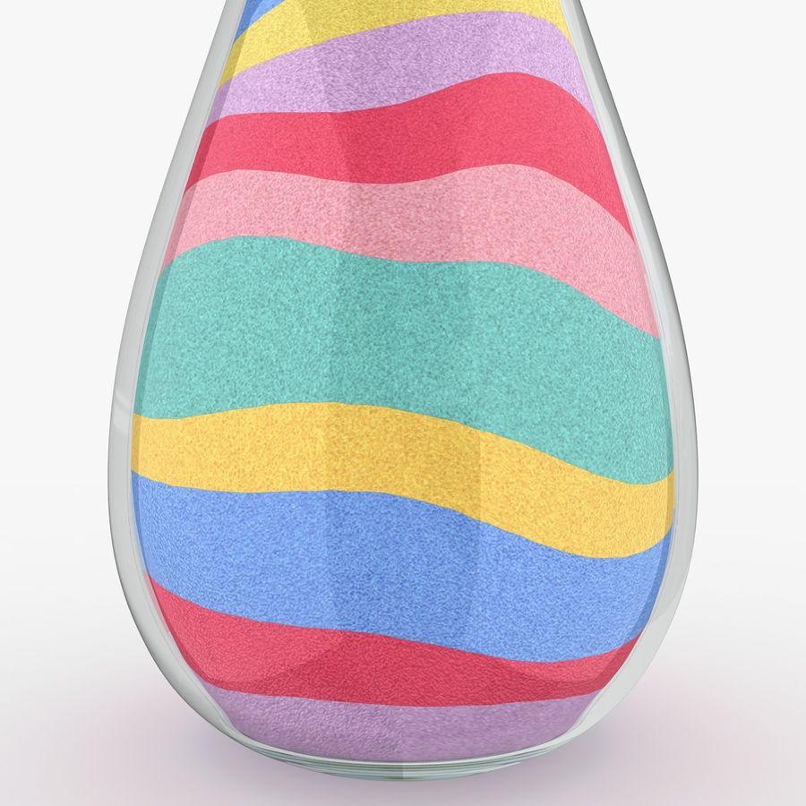 Sabbia colorata royalty-free 3d model - Preview no. 3