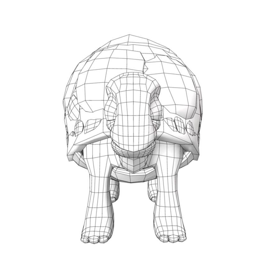 Eski Kaplumbağa Kaplumbağa modeli royalty-free 3d model - Preview no. 7