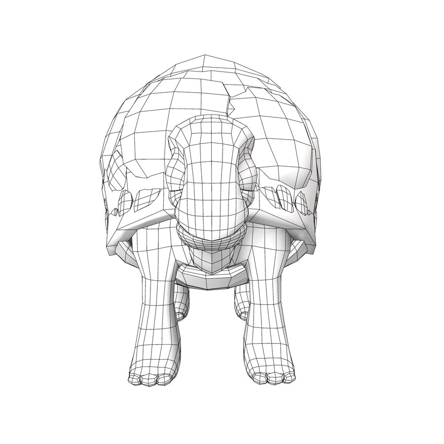 Old Turtle Tortoise model royalty-free 3d model - Preview no. 7