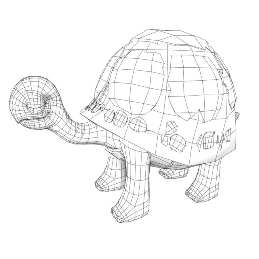 Eski Kaplumbağa Kaplumbağa modeli royalty-free 3d model - Preview no. 4