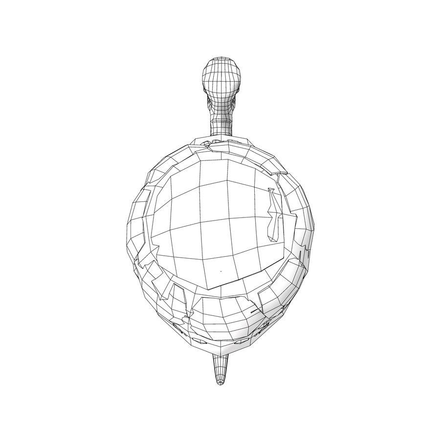 Eski Kaplumbağa Kaplumbağa modeli royalty-free 3d model - Preview no. 8