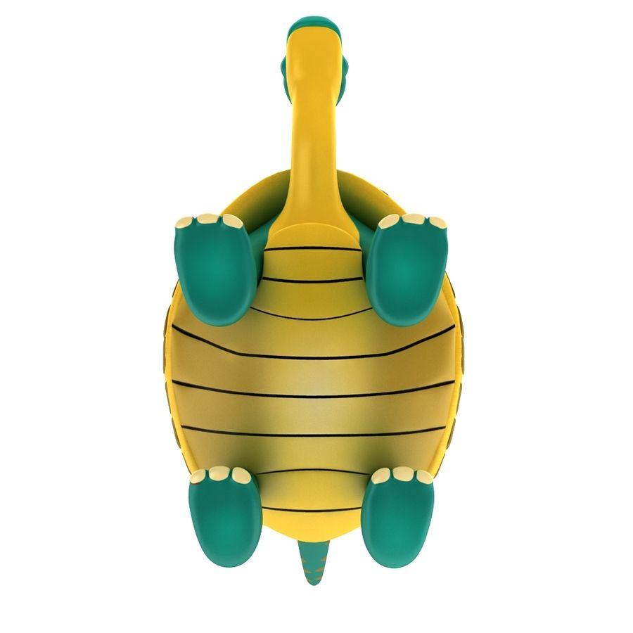 Eski Kaplumbağa Kaplumbağa modeli royalty-free 3d model - Preview no. 6