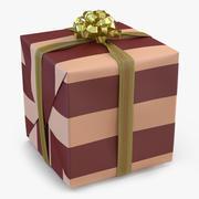 Giftbox 2 Gold modelo 3d