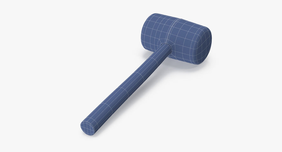 Rubber Mallet royalty-free 3d model - Preview no. 15