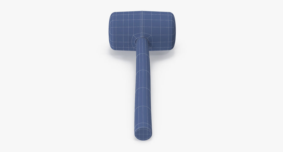 Rubber Mallet royalty-free 3d model - Preview no. 14