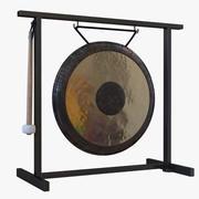 Vieux gong 3d model