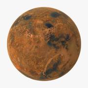 Planète extraterrestre 01 3d model