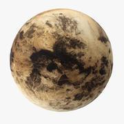 Plutón modelo 3d