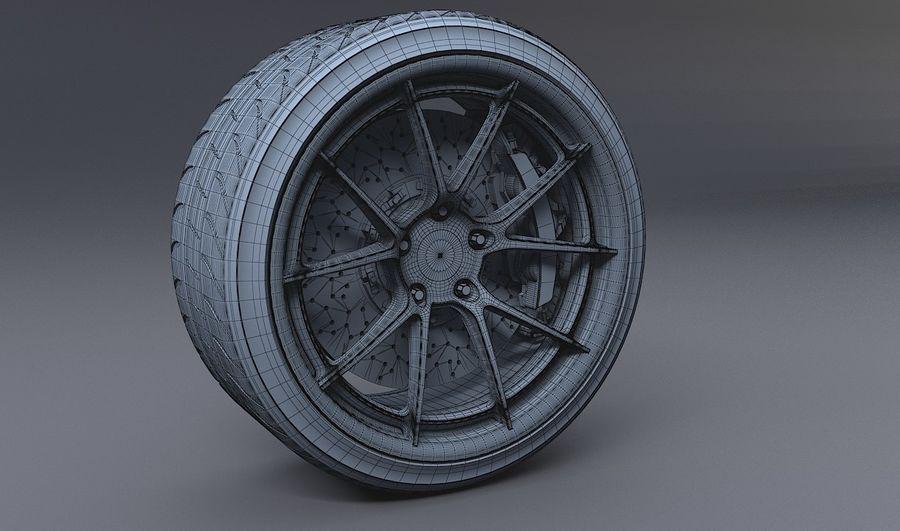 гоночный дисковый тормоз и руль royalty-free 3d model - Preview no. 5
