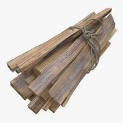 дрова 3d model