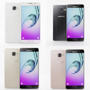 Samsung A5 Galaxy (2016) Alla färger 3d model