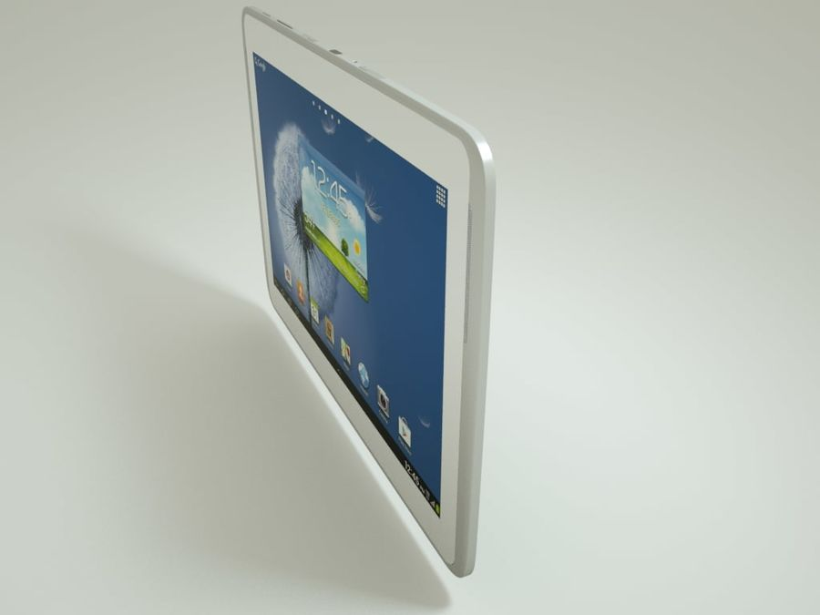 Samsung Galaxy Note royalty-free 3d model - Preview no. 3