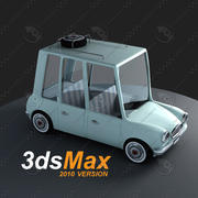 Cartoon-Auto 3d model