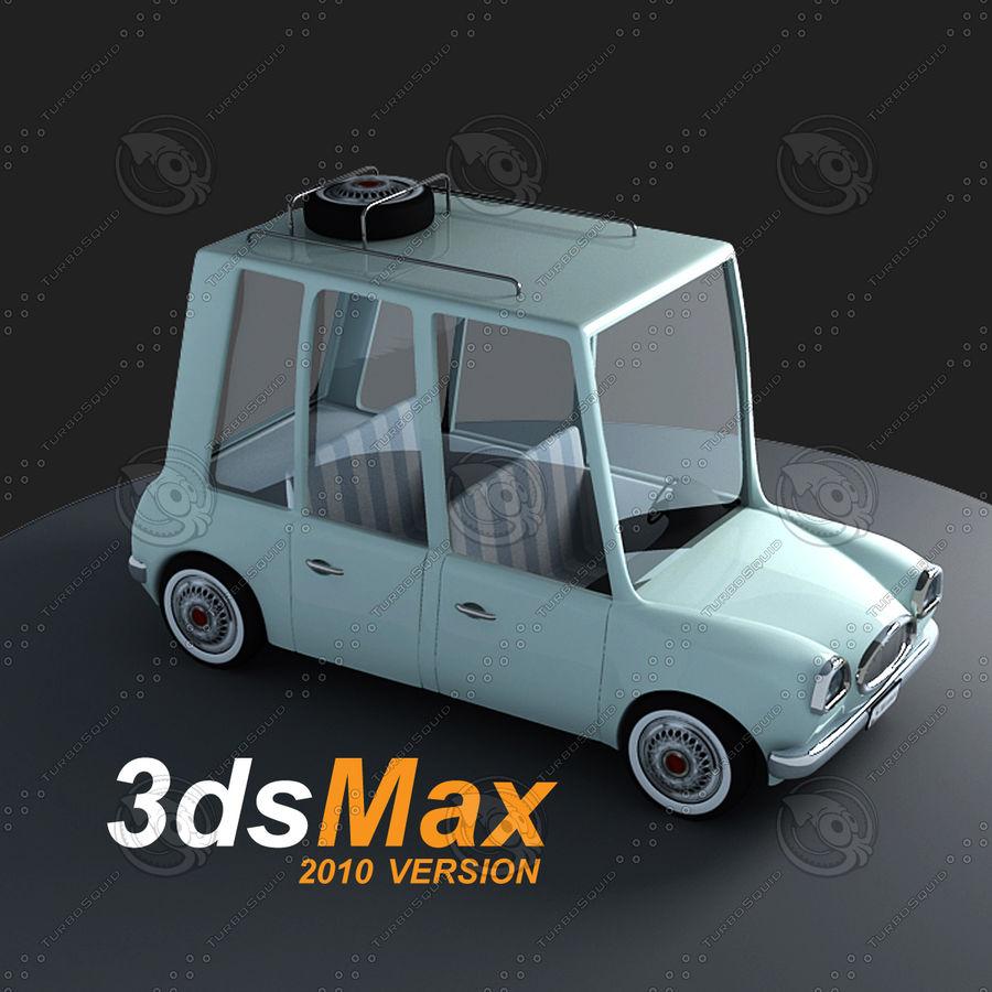 Cartoon Car royalty-free 3d model - Preview no. 1