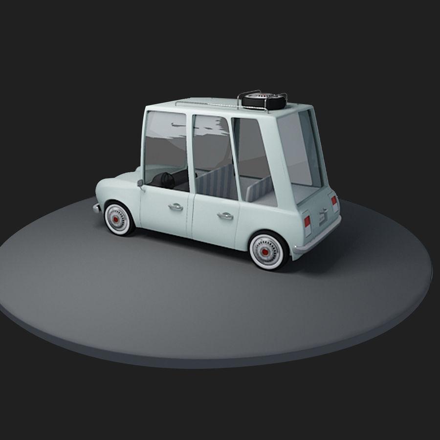 Cartoon Car royalty-free 3d model - Preview no. 5