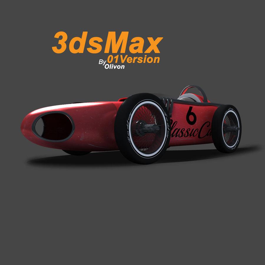Samochód wyścigowy royalty-free 3d model - Preview no. 1