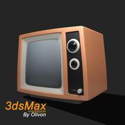 Télévision rétro 3d model