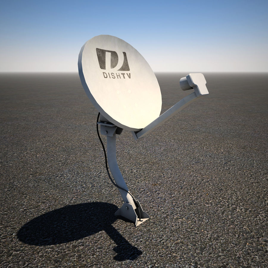 Satellite Dish royalty-free 3d model - Preview no. 1