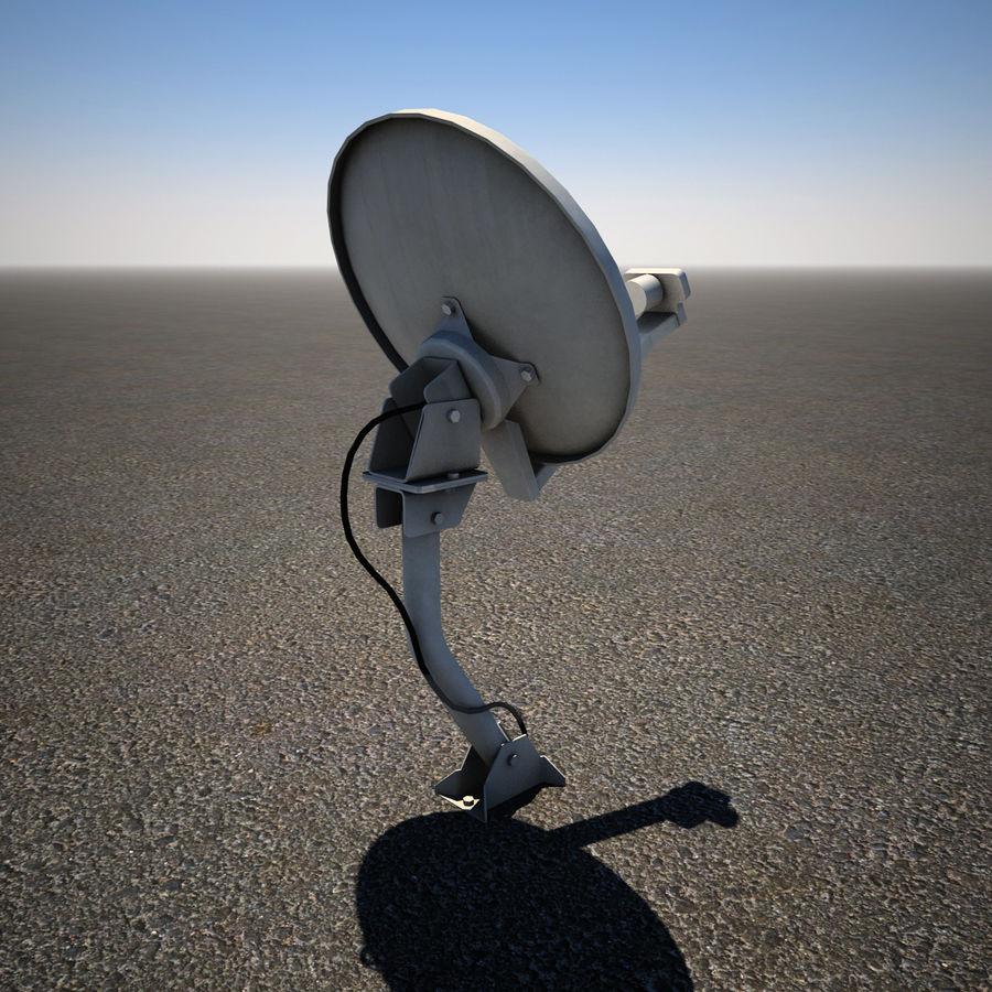 Satellite Dish royalty-free 3d model - Preview no. 5
