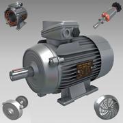 電気モーター 3d model