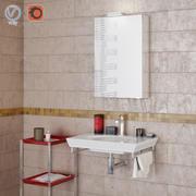バスルームのインテリアシーン002 MD50 3d model