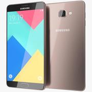 Samsung Galaxy A9 Pink 3d model