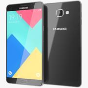 三星Galaxy A9黑色 3d model