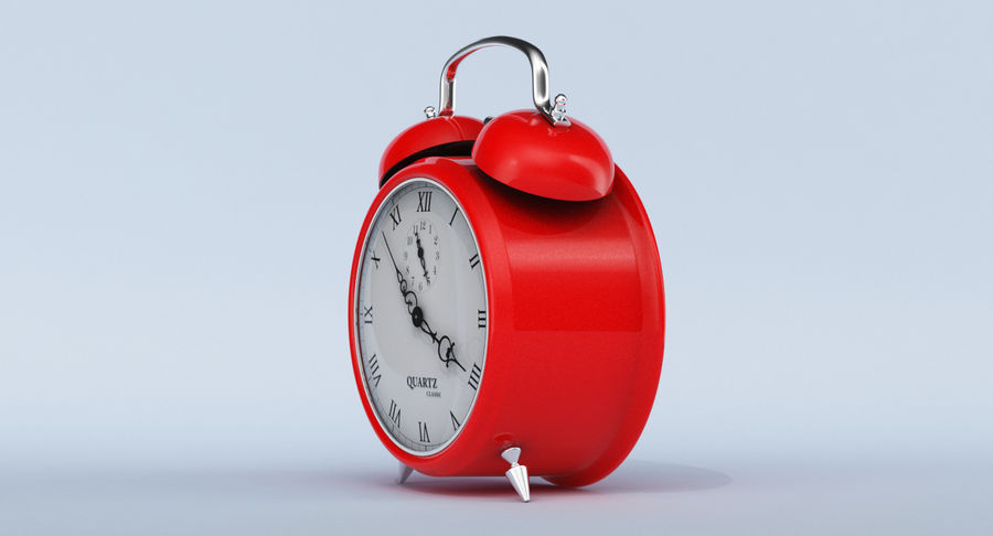 Alarm Clock royalty-free 3d model - Preview no. 12
