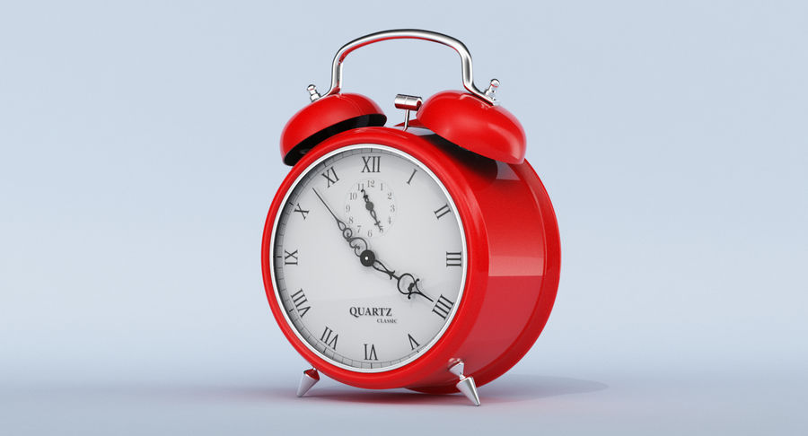 Alarm Clock royalty-free 3d model - Preview no. 13