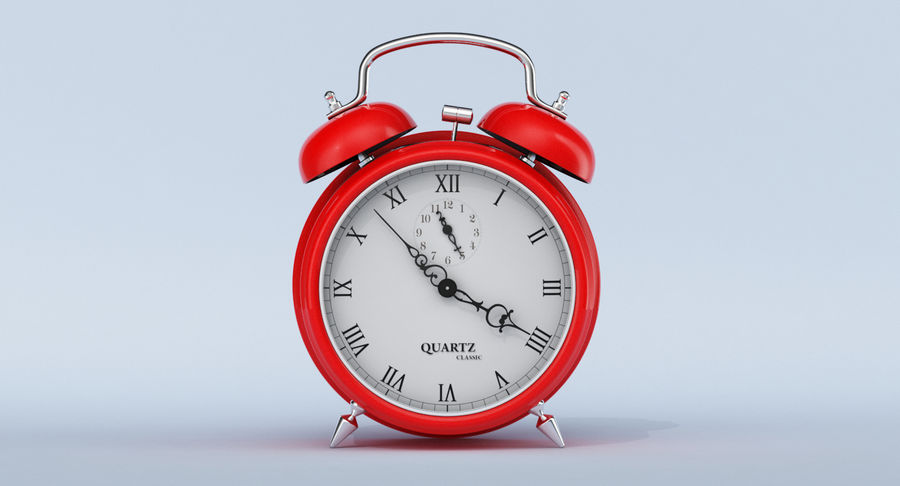 Alarm Clock royalty-free 3d model - Preview no. 2